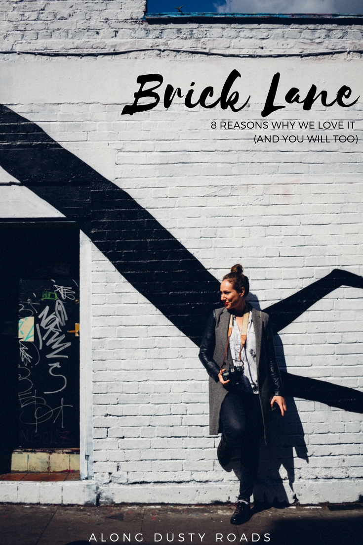 Brick Lane is one of our favourite parts of London.  Click on the pin to find out why!