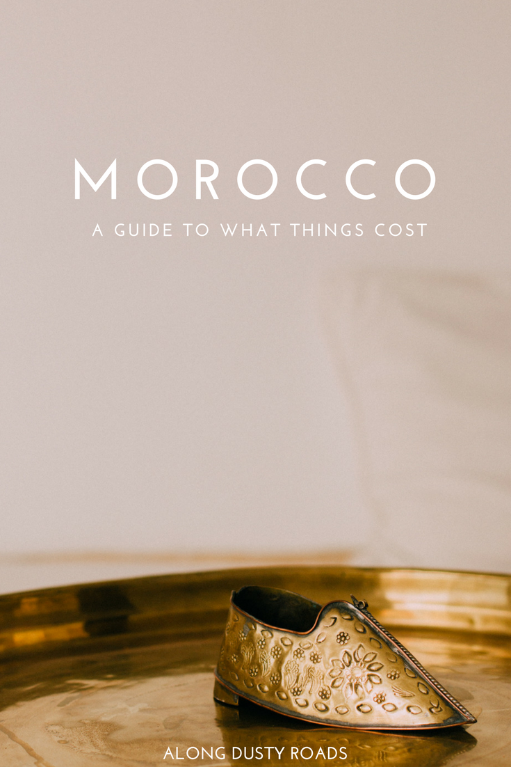 Heading to Morocco? Knowing how much things cost will make planning your trip that much easier! Click on the pin to discover more.