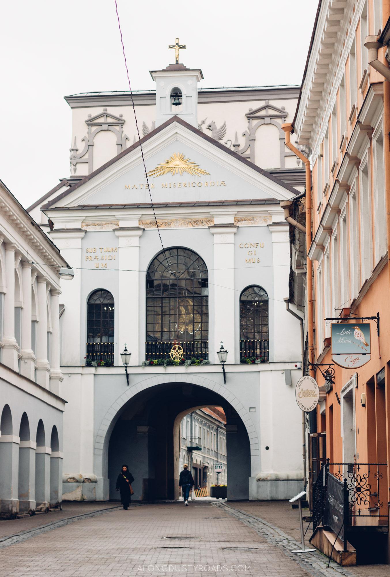 Gates of Dawn, Vilnius, Lithuania