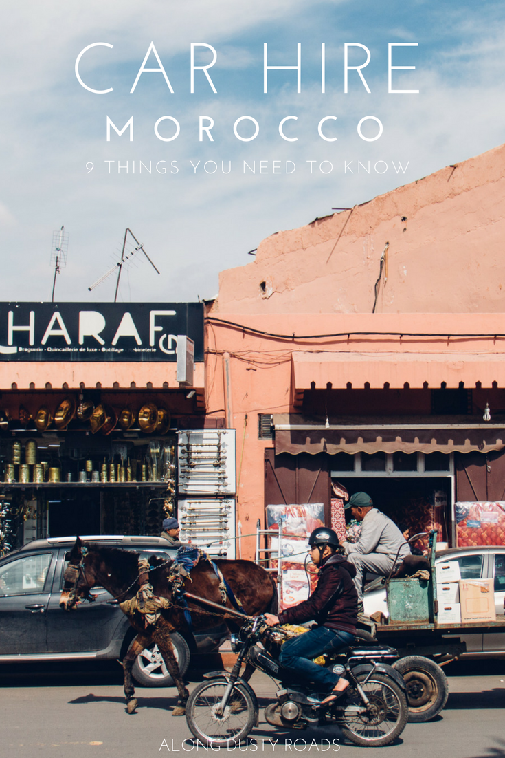 Renting a car in Morocco is not without it's problems so we've put together this article to help you avoid many of the common ones! Essential information if you're heading out on a Moroccan road trip!