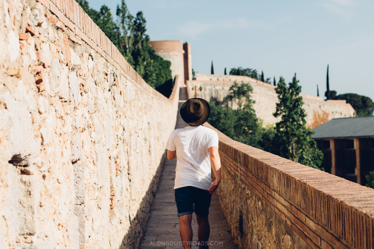 Things to do in Girona - Walk the City Walls