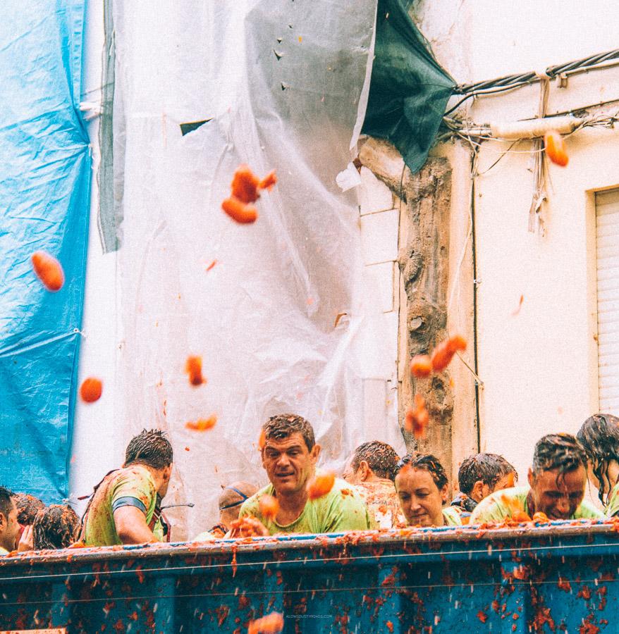 La Tomatina Festival, Bunol, Spain