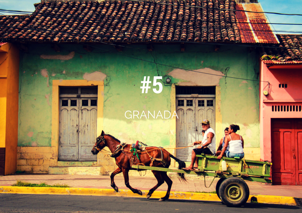 Top things to do in Nicaragua - colonial granada