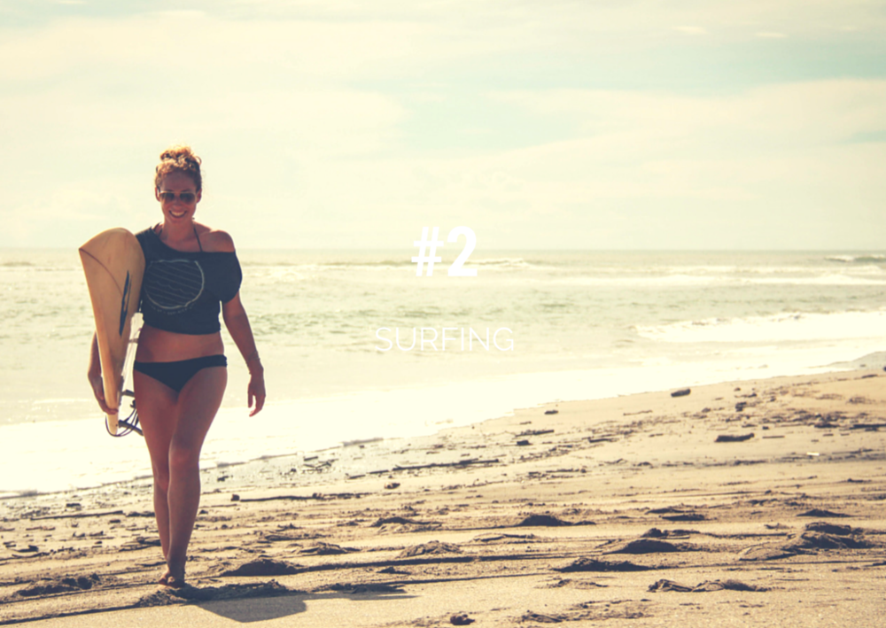 Top things to do in Nicaragua - surfing in nicaragua