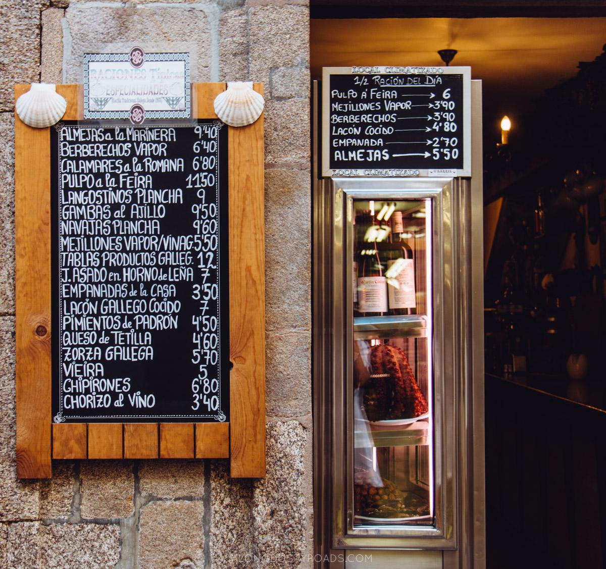 Things to do in Santiago de Compostela, Galicia, Spain -  Seafood