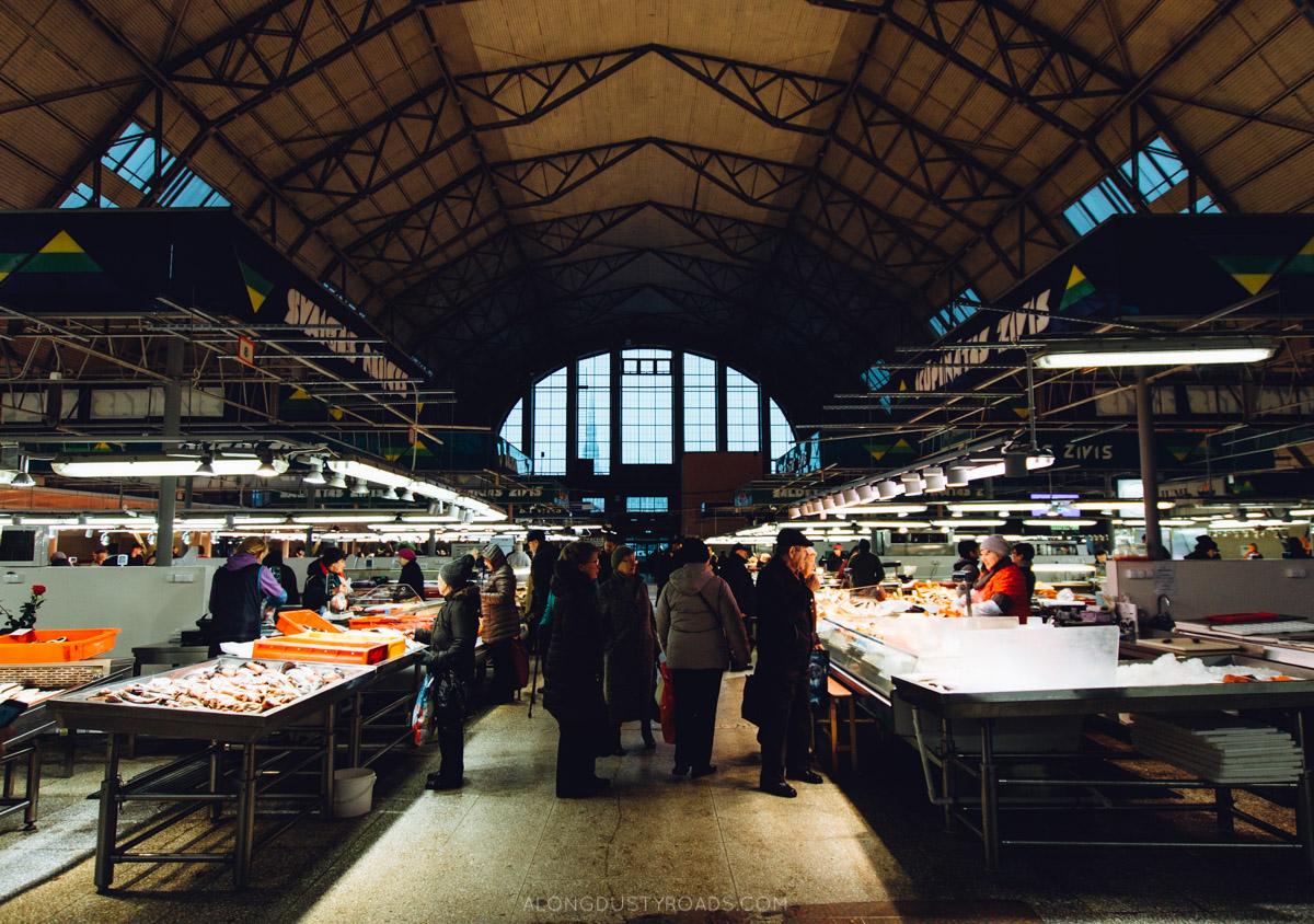 Things to do in Riga Latvia - Central Market