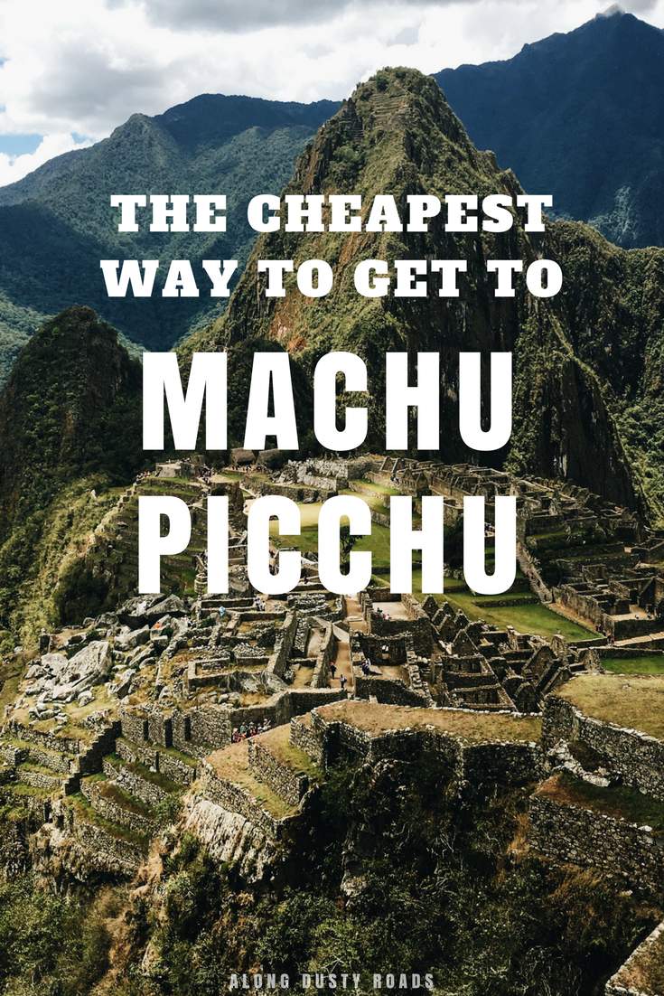 Getting to Machu Picchu can be expensive - so we found a solution. The perfect option for budget backpackers, and the very cheapest way to get to Machu Picchu! | Independent travel | Inca Trail | Hiking | Peru | Aguas Calientes | Ollyantambo | Rail tracks