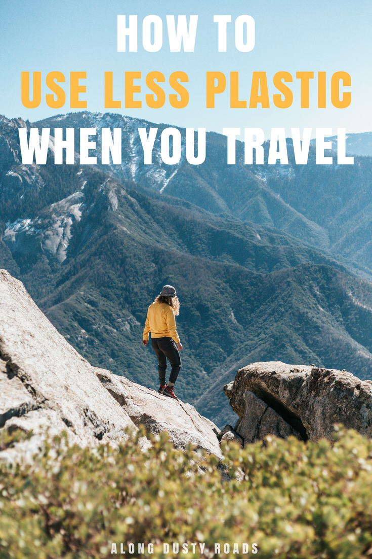 13 awesome and easy ways to use less plastic when you travel. Packing List | Sustainable Travel | Ethical Travel | Backpacking