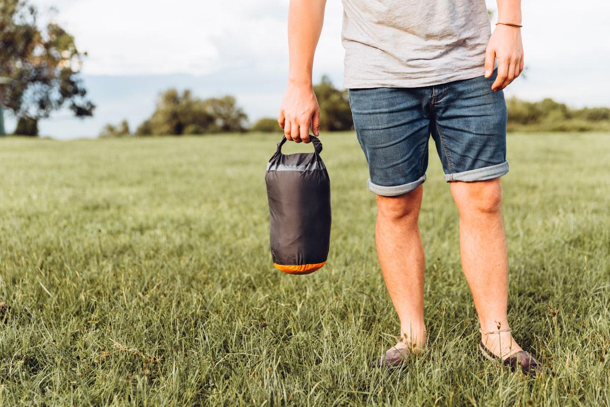 how to pick the best sleeping bag - rab neutrino sleeping bag - camping
