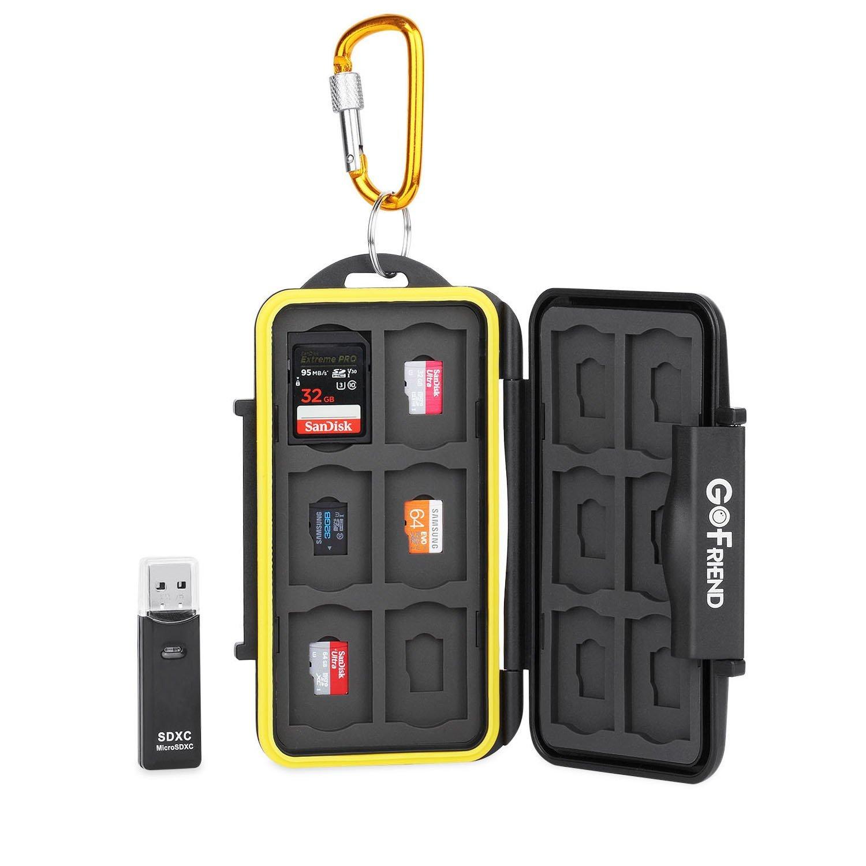 Travel SD Card Holder