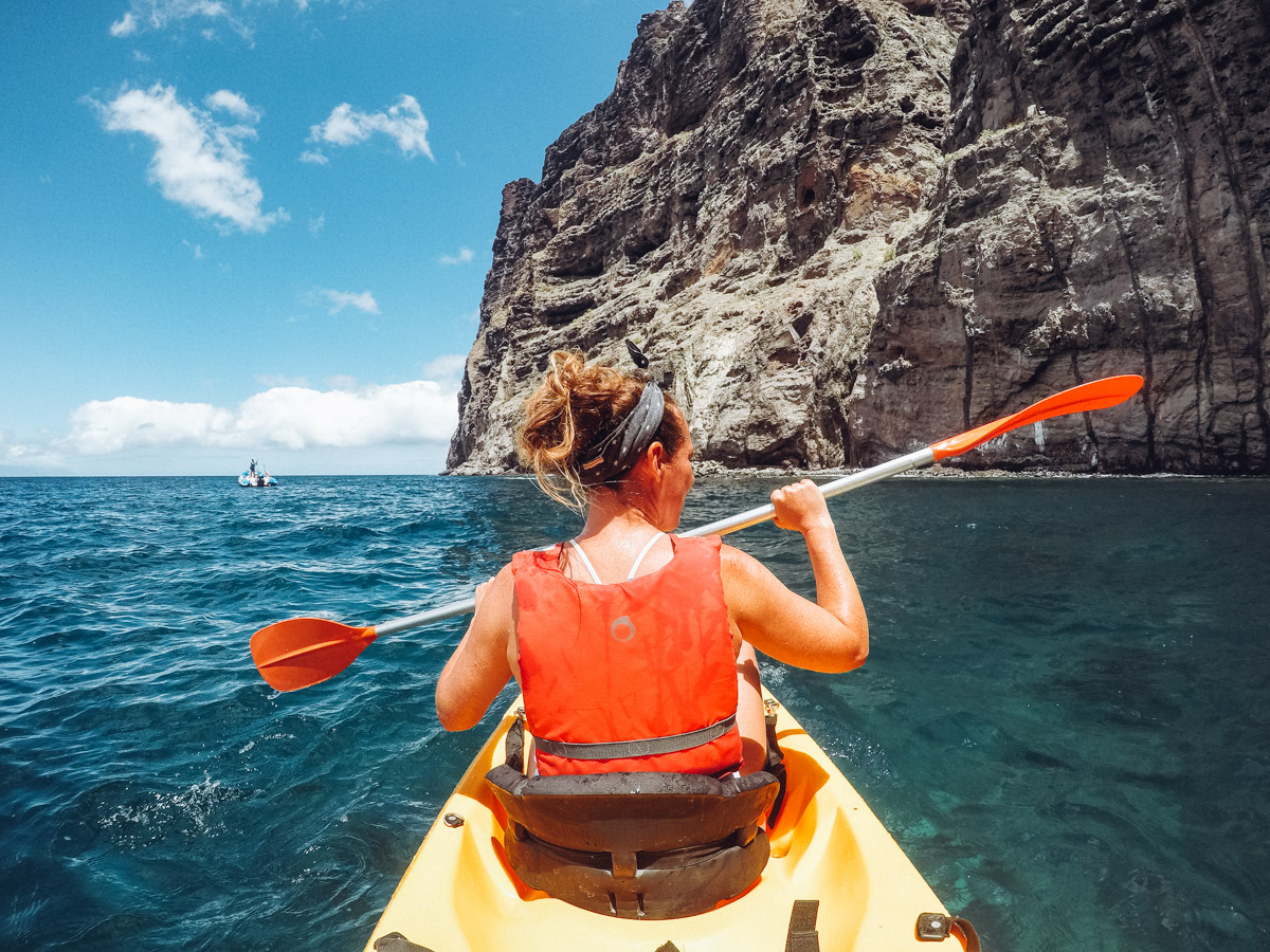 Kayaking-Tenerife