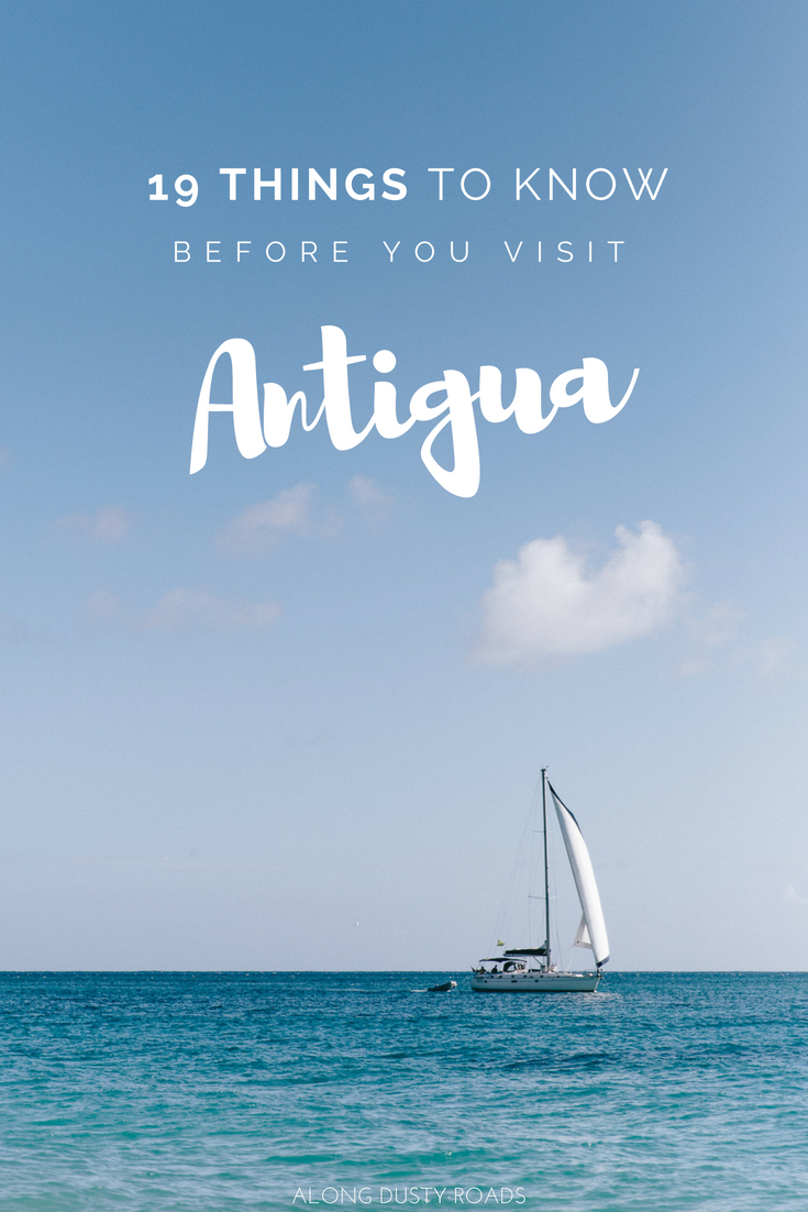 19 really useful things to know before visiting the Caribbean paradise of Antigua.  Antigua Facts | Antigua Photography | Antigua All Inclusives | Hotels | Caribbean | Shirley Heights | Things to Do in Antigua | Antigua and Barbuda  #Antigua #Caribbean #AntiguaTravel #AntiguaAndBarbuda