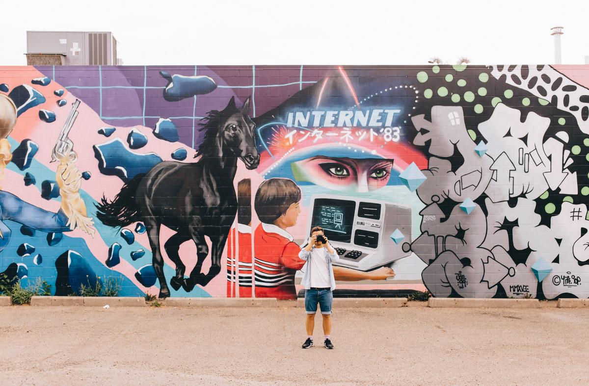 Street Art | Things to do in Edmonton, Alberta, Canada