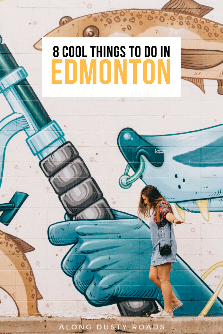 Edmonton is not only a great point to start your Rockies adventure - it's also a great city! Here are eight things to do in Edmonton Canada.