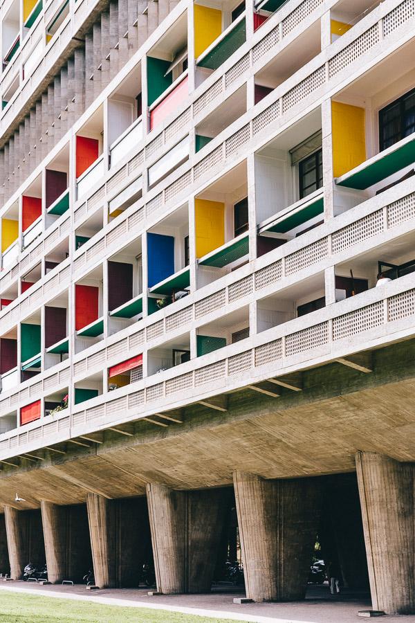 Le corbusier cité radieuse Marseille