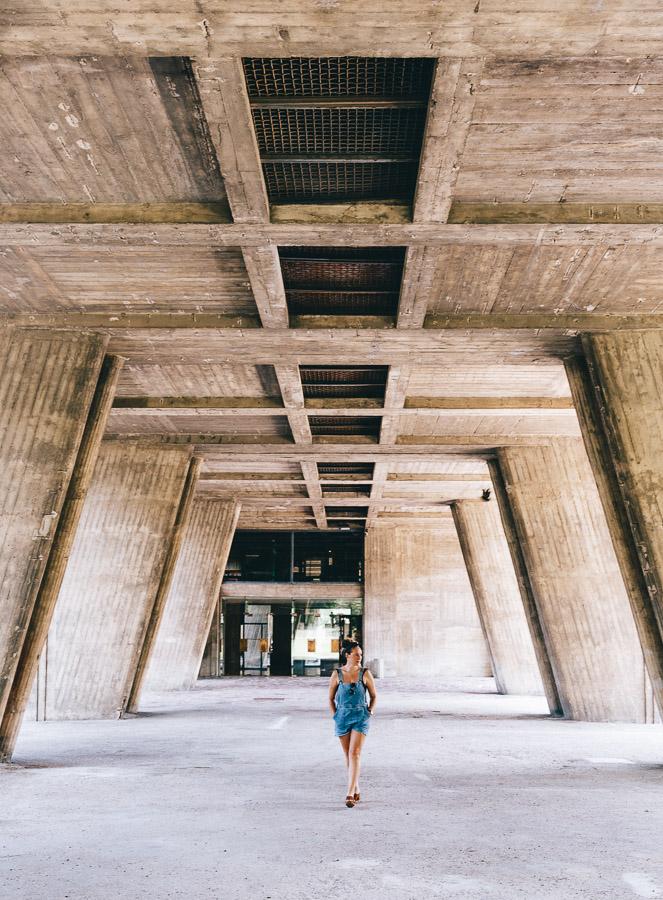 Corbusier building in Marseille