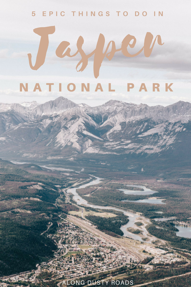 Wild and rugged, Jasper National Park in Canada's Rockie Mountains is an absolute bucket list destination. Here are five things you can't miss!