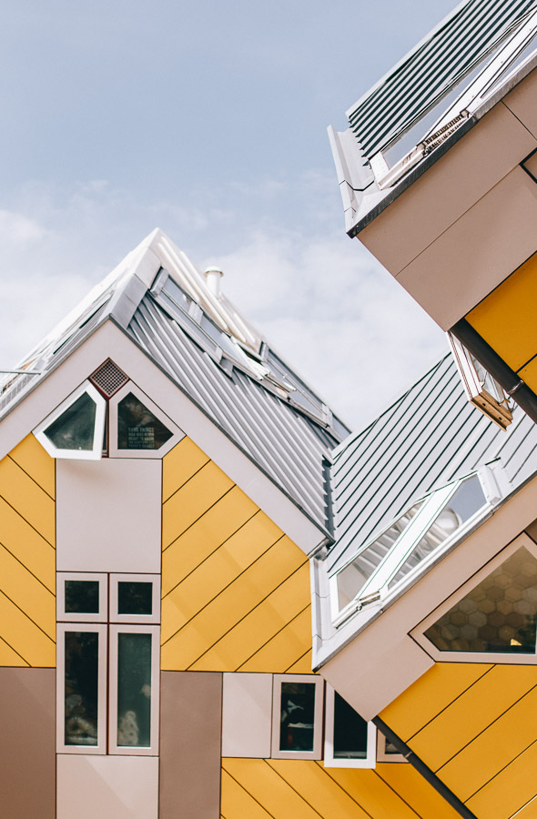 Things to do in Rotterdam - Cube Houses