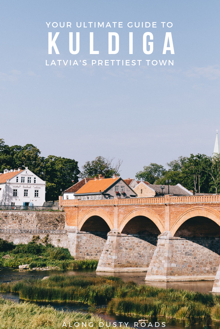 Here's everything you need to plan a trip to Kuldiga - Latvia's prettiest little town, and an absolute must-visit on a Latvia road trip.