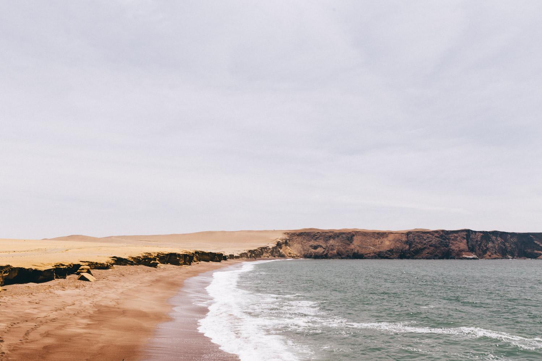 Playa Roja Paracas