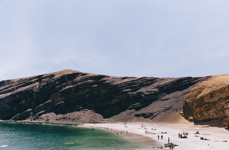 Playa La Mina Paracas National Reserve