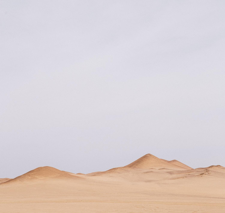 帕拉卡斯国家保护区的沙丘