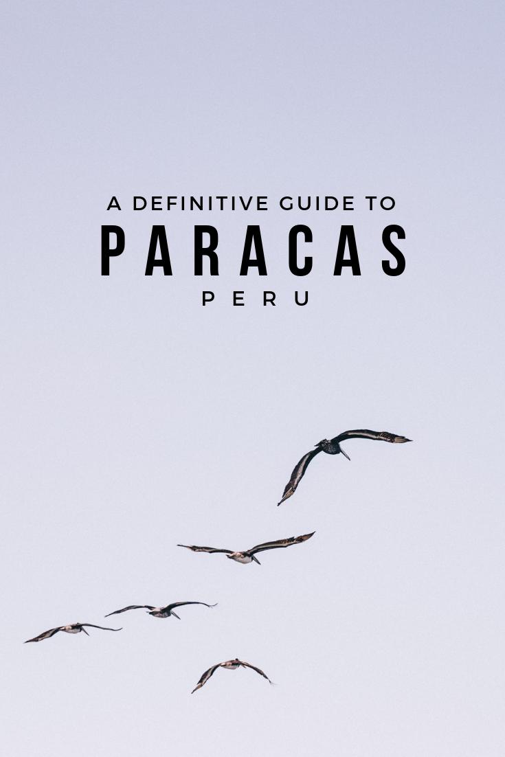 """帕拉卡斯是""""穷人的加拉帕戈斯群岛""""(又名巴列斯塔斯岛)的故乡,是背包客旅行路线上一个受欢迎的地方。在这本指南中找到你计划旅行所需的一切!"""