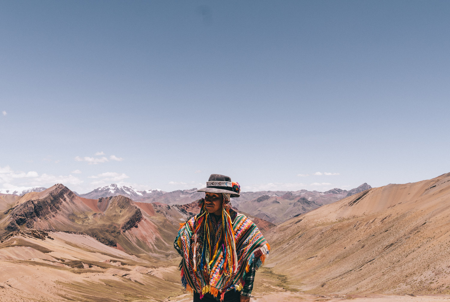 Indigenous Man at Vinicunca