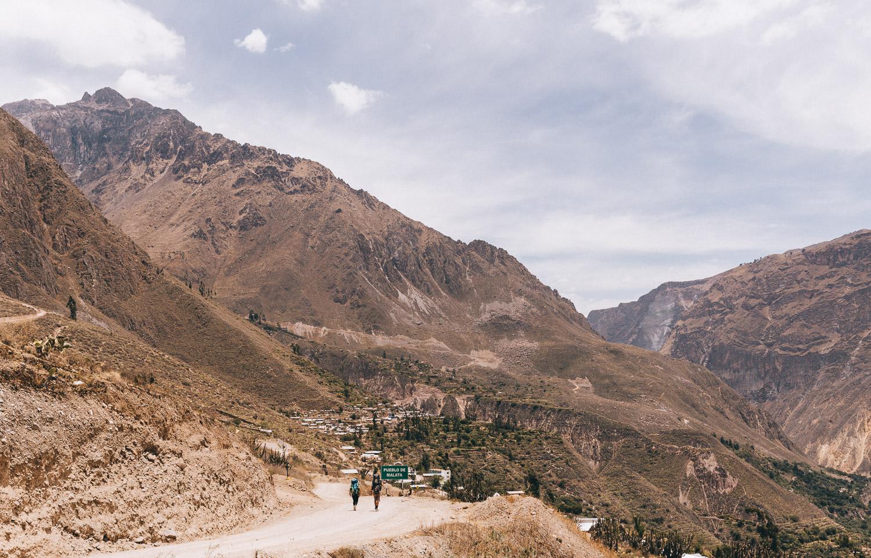 科尔卡峡谷最佳路线