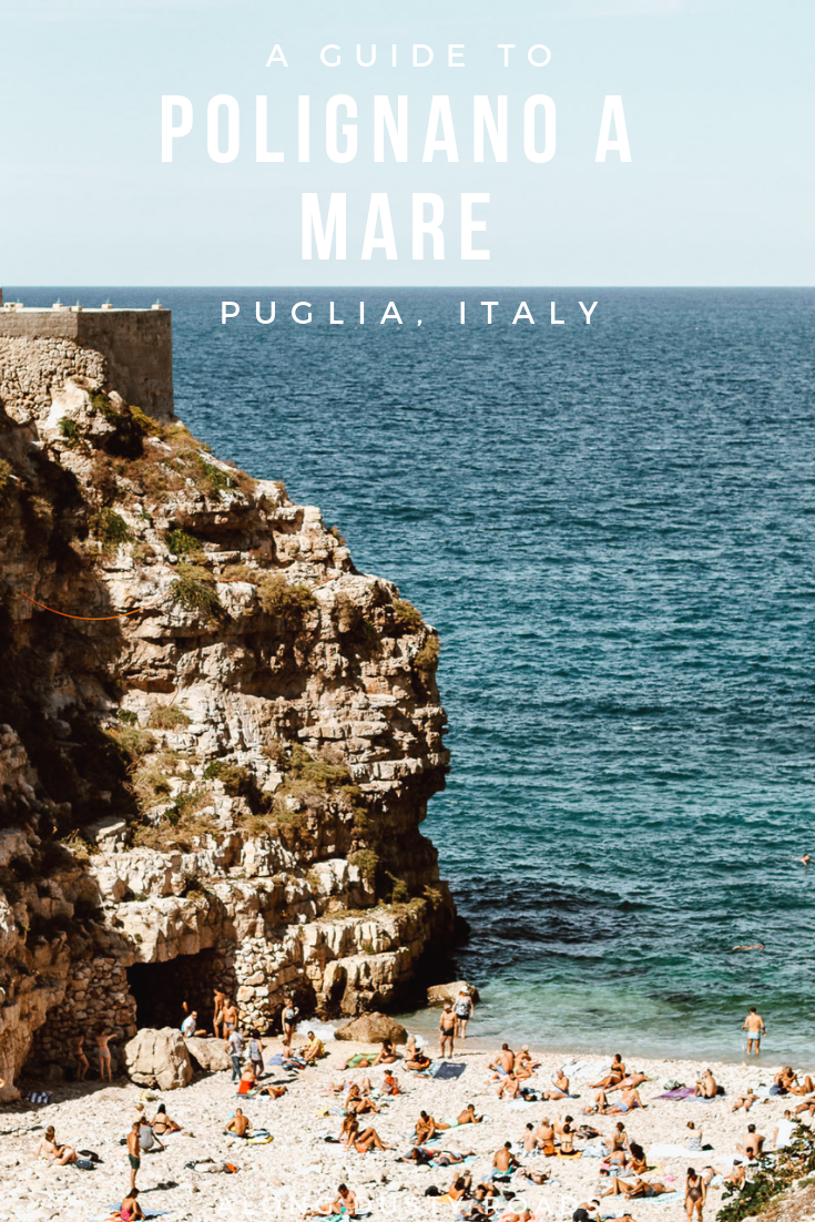 With the beach that made Puglia famous, Polignano a Mare is an essential stop in Puglia. Find out all the best things to do in Polignano a Mare, where to eat, where to stay and how to get there in this guide! #Puglia #Beach #Italy #Summer #Vacation #Holiday #RoadTrip #Italian