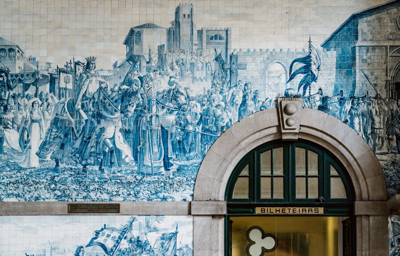 Azulejos | São Bento Train Station, Porto