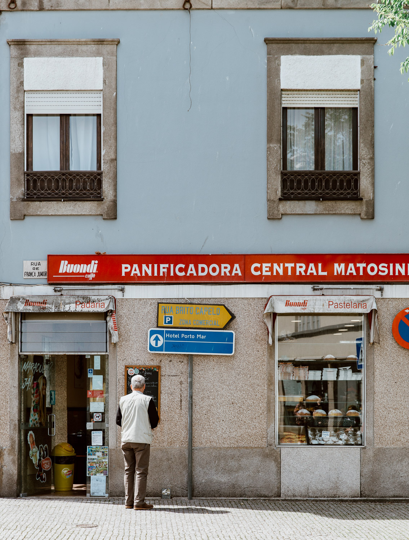 Matosinhos Street Scene | Portugal