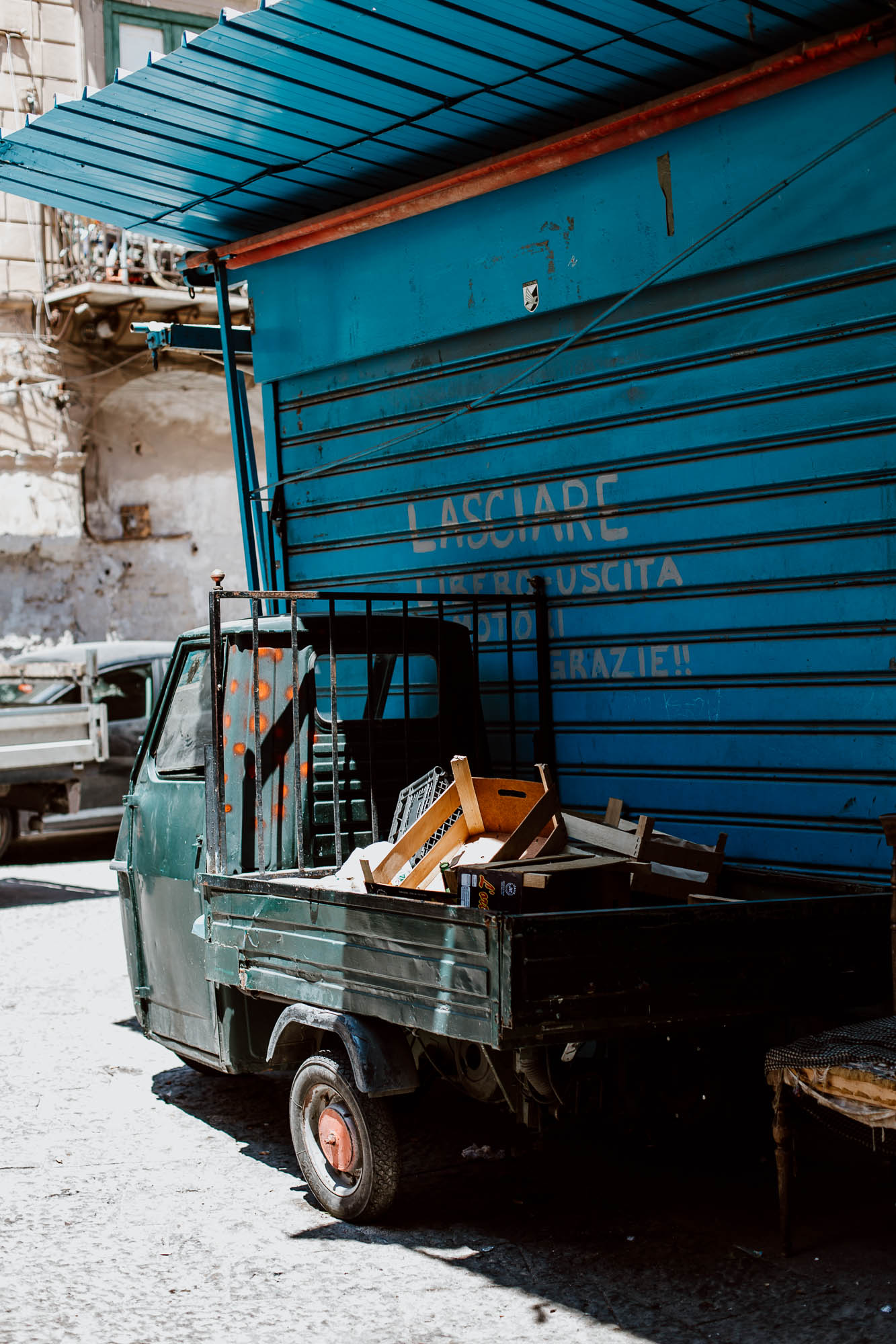 Markets to visit in Palermo - Along Dusty Roads