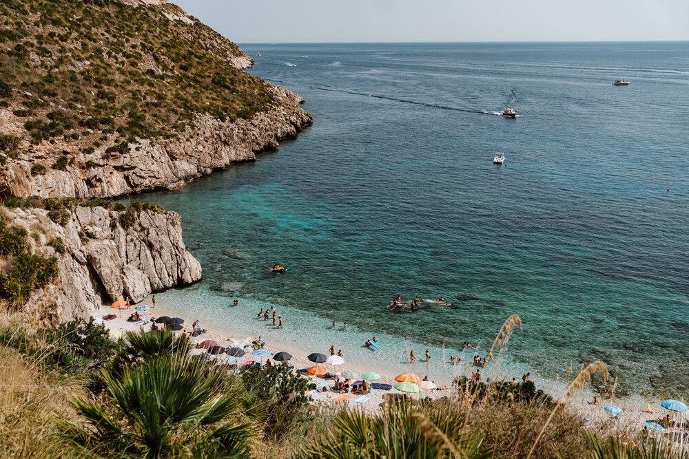 Beaches Lo Zingaro Nature Reserve