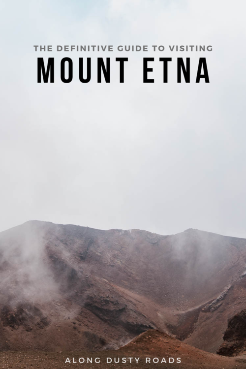 Planning a visit to Mount Etna? Everything you need to know is in this guide! #Hiking #Italy #Sicily #Etna #MountEtna #Summit #ThingsToDoInSicily