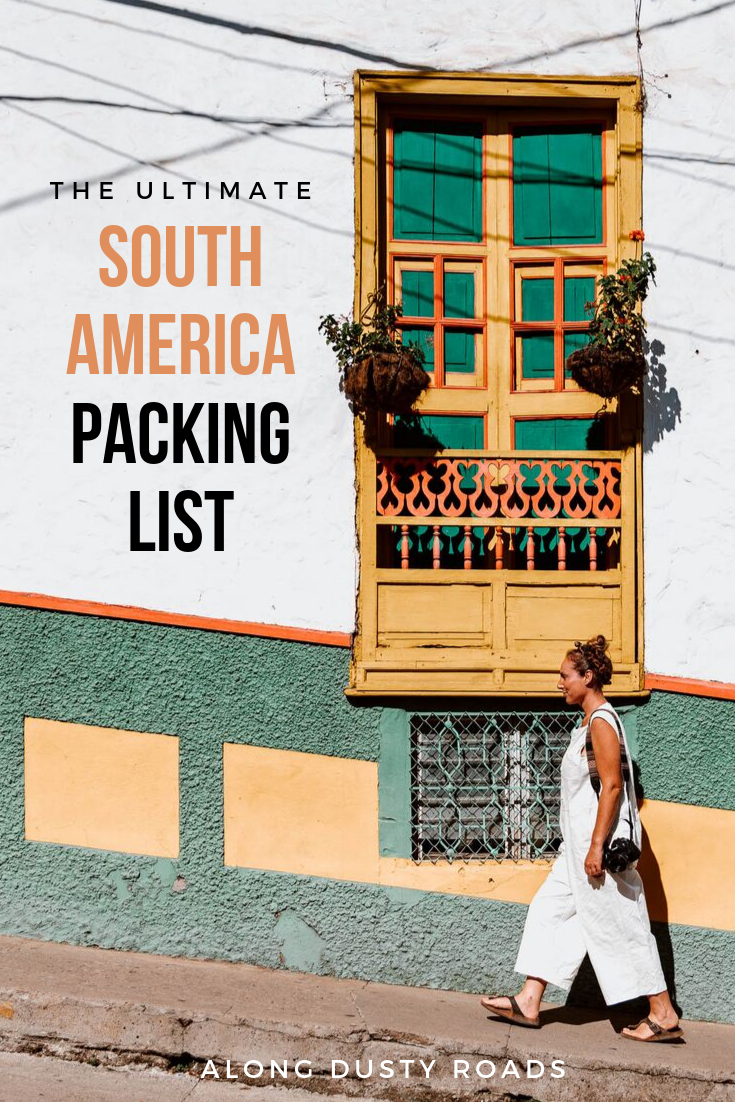 Whether you're off to backpacking around South America for a year, or picking two countries to explore for a few weeks, packing for a trip can be pretty overwhelming! We've spent 20 month in South America across three trips and know exactly what you need to take, and what to keep at home. Here's our ultimate packing list! #SouthAmerica #Backpacking #PackingList #Colombia #Peru #Bolivia #Ecuador