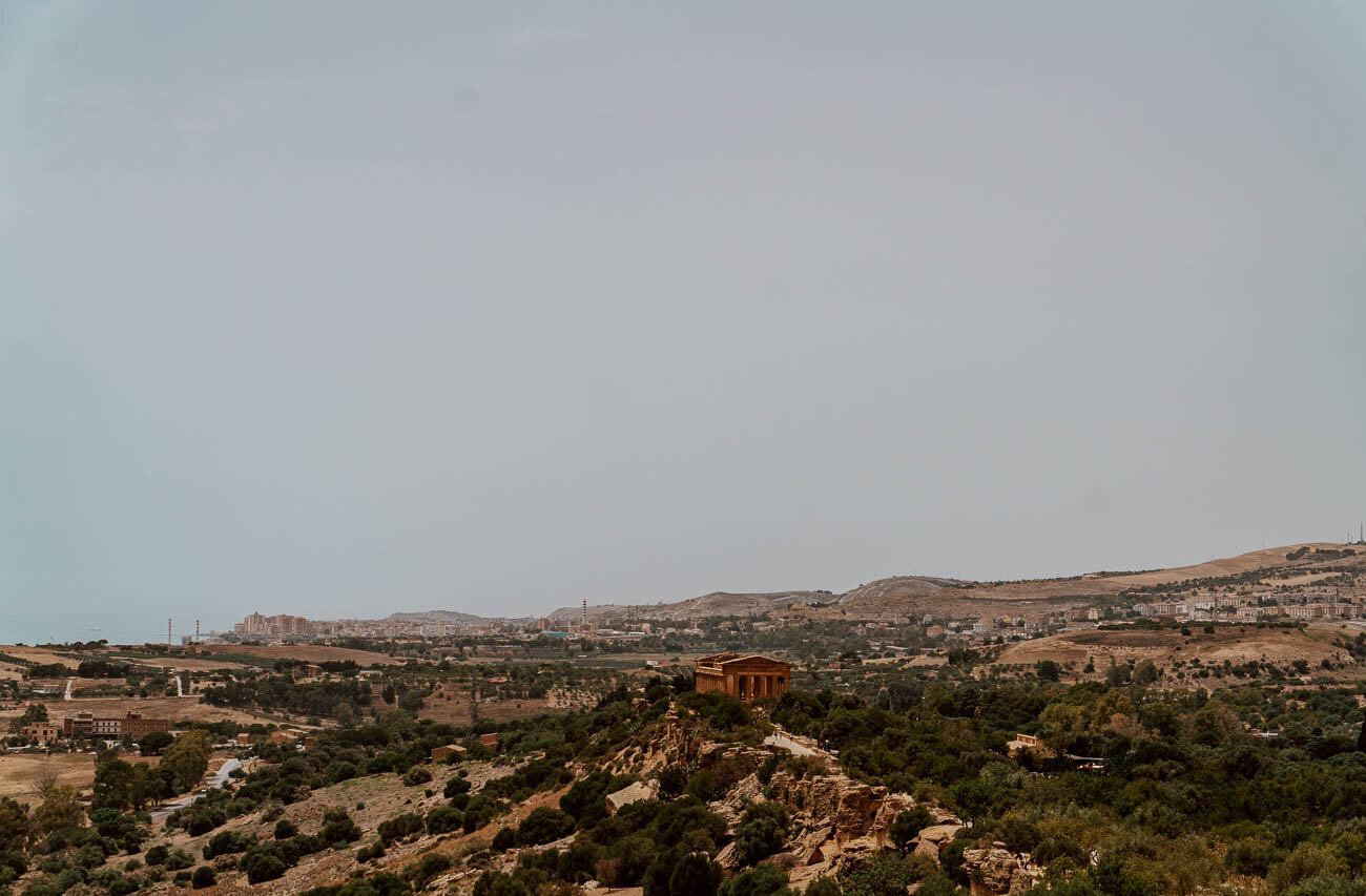 Valley of the Temples, Sicily | Landscape View