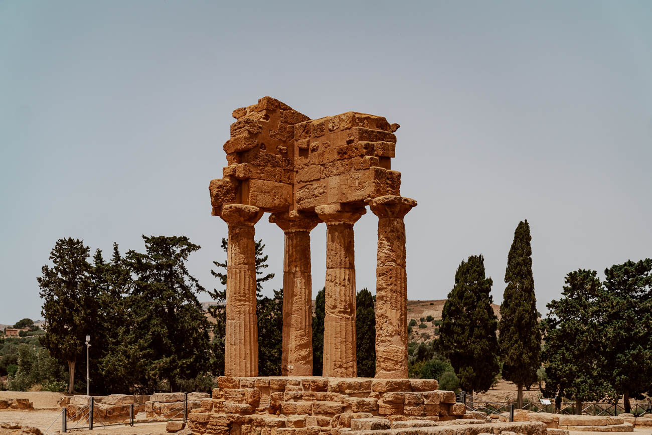 Valley of the Temples, Sicily | Temple of Castor and Pollux