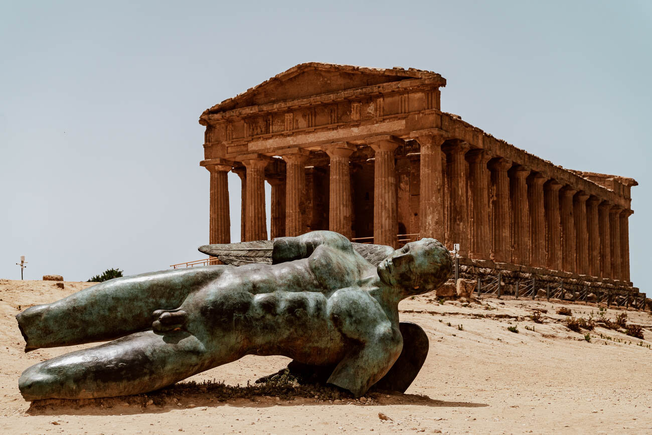 Valley of the Temples, Sicily | Fallen Statue of Icarus