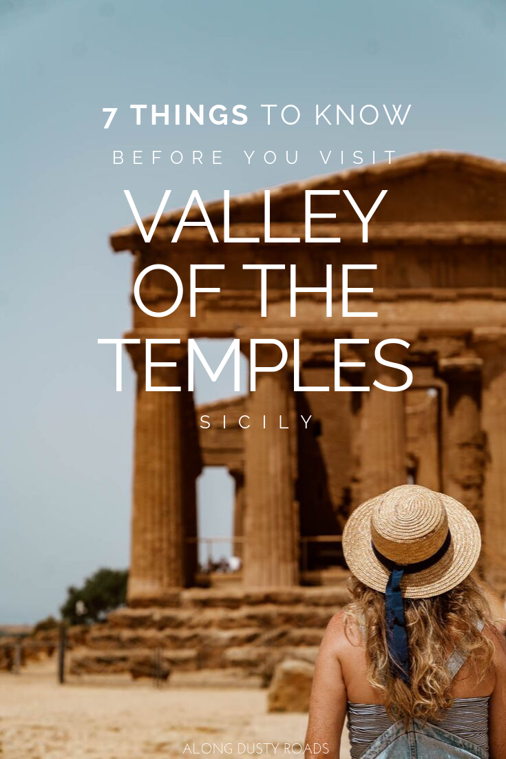 Whether you're a history buff or not, there are few more impressive sights to see in Sicily than the Valley of the Temples, just outside Agrigento. Here's everything you need to know to plan your visit. #Sicily #Agrigento #ValleyoftheTemples #Ruins #DayTrips