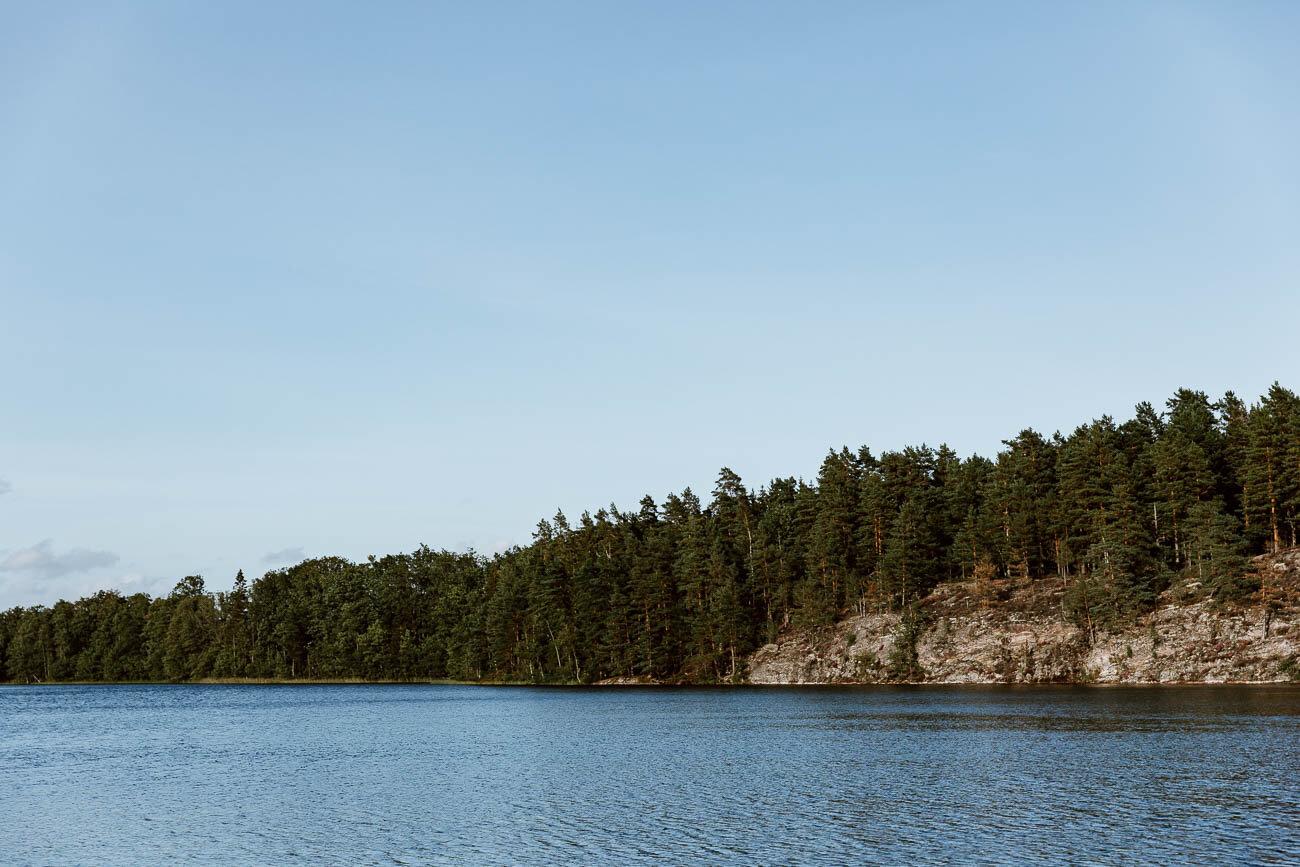 Dalsland Lake in West Sweden - Along Dusty Roads