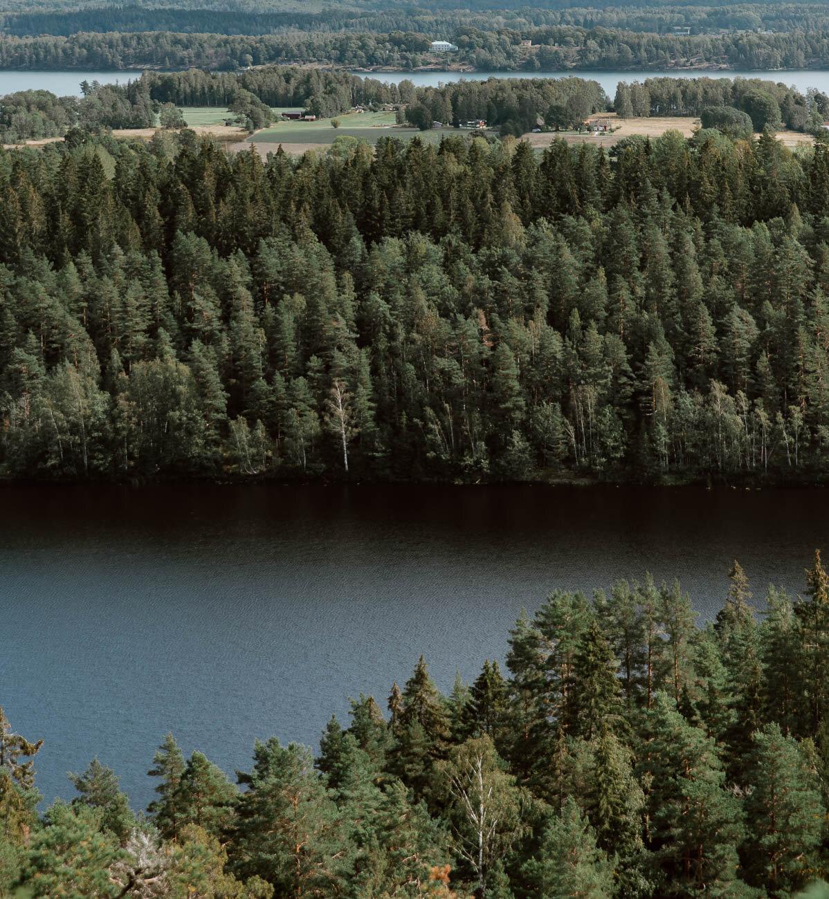 Hiking in West Sweden -  Along Dusty Roads