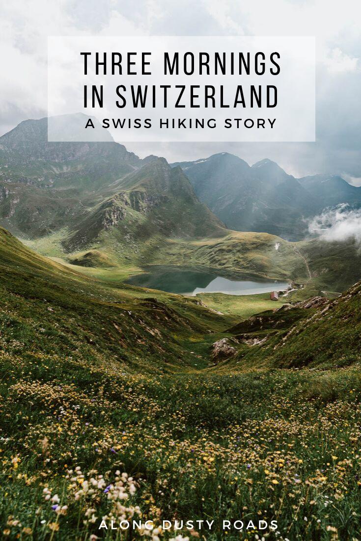 今年夏天,我们花了一周时间探索瑞士的乡村、湖泊、山谷和山脉。七天,无数的时刻和三个我们将永远记住的早晨。