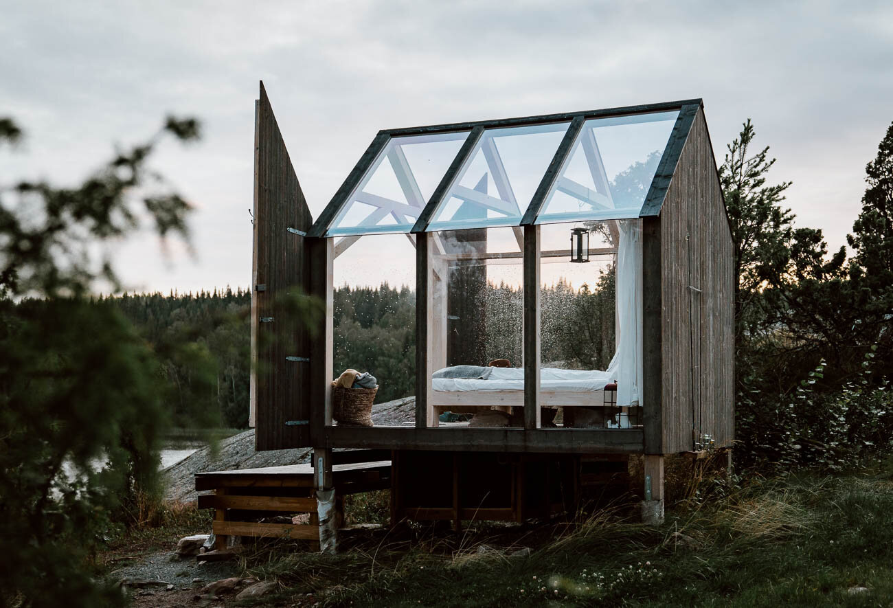 72 Hour Cabins in West Sweden - Along Dusty Roads