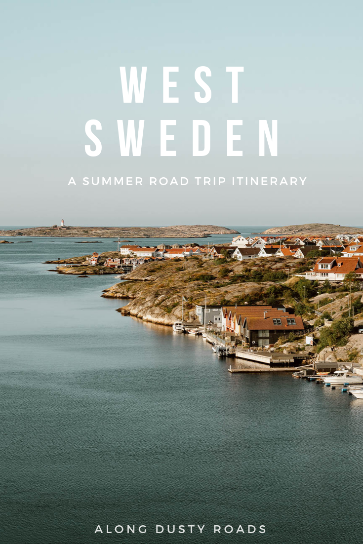 A West Sweden road trip, starting in Gothenburg, leads to the lakes and thick forests of Dalslands before slowly island hopping down the famous Bohuslän archipelago. This awesome 8-day West Sweden road trip itinerary is perfect for nature lovers looking to reconnect with the outdoors in Scandinavia. #WestSweden #Sweden #RoadTrip #Smögen #Scandinavia #Outdoors #Nature