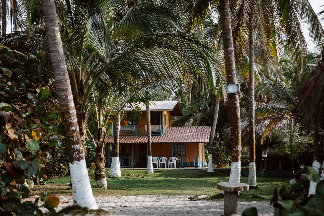 Beach Hostel, Palomino, Colombia