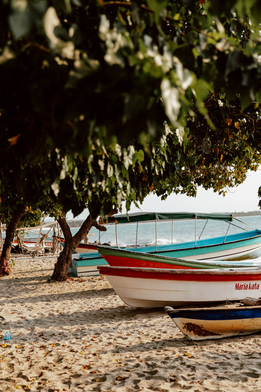 A Guide to Rincon del Mar, Colombia | Boats on the Shore