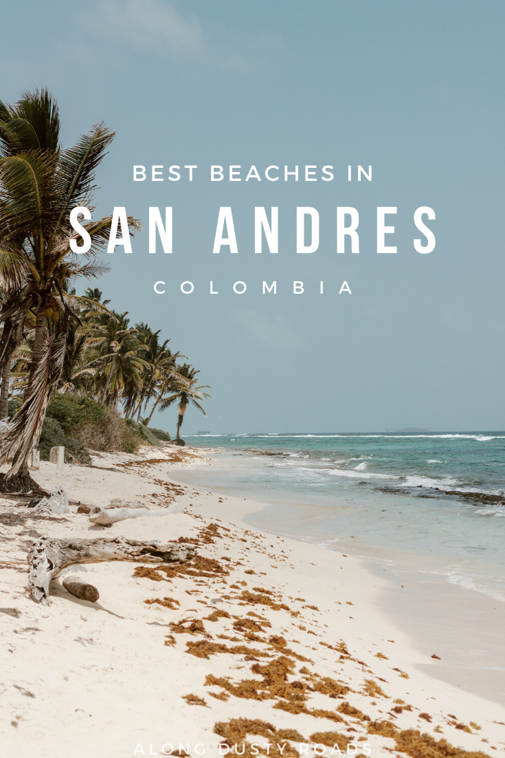 Looking for the best beaches in San Andres Colombia - this place has ALL the information! Best beaches in Colombia | #Colombia #SanAndres #SouthAmerica #Backpacking #Beaches #ColombiaBeaches #Caribbean