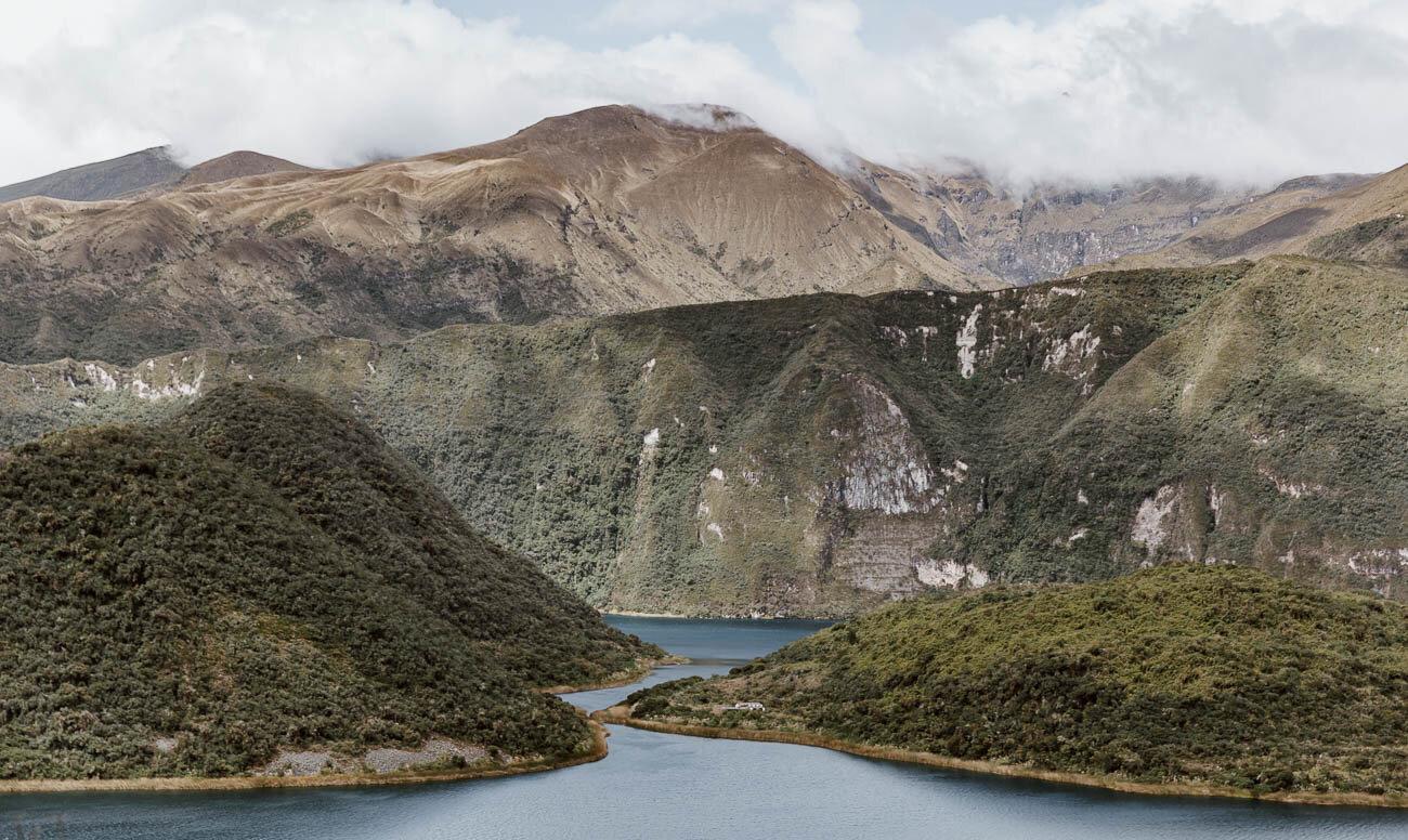 Laguna de Cuicocha, Otavalo, Ecuador