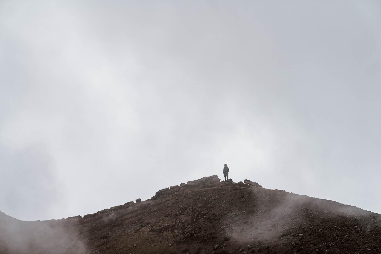 西西里岛埃特纳火山,
